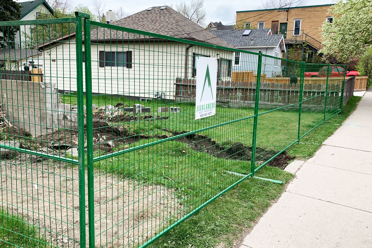 Calgary Temporary Fencing Solution