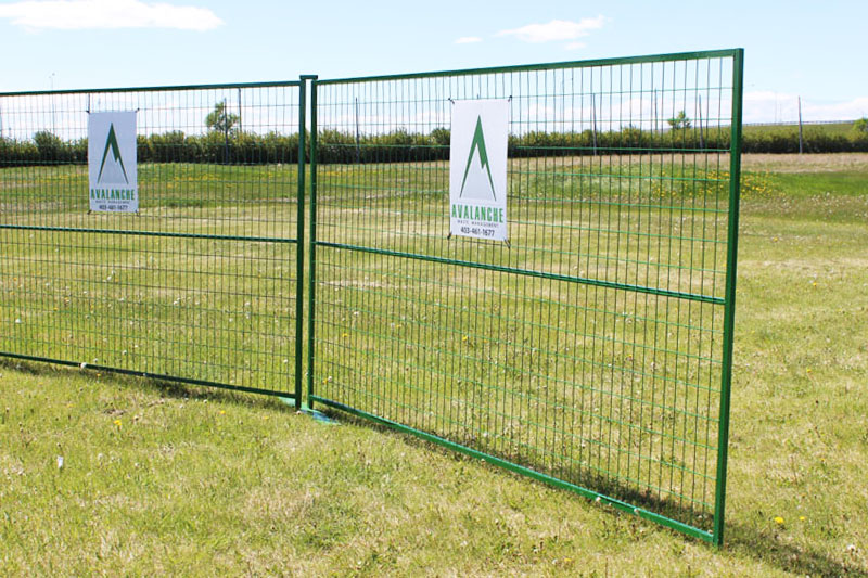 Calgary Temporary Fencing Solution
